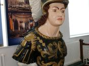 Figurehead of HMS Bellerophon