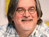 English: Matt Groening at the 2010 Comic Con in San Diego