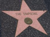 English: The Simpsons star in Hollywood Walk of Fame Español: Estrella de Los Simpson (The Simpsons) en el Paseo de la Fama de Hollywood. Deutsch: Simpsons-Stern auf dem Walk of Fame in Hollywood