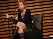 Samantha Nutt reads from her chosen book for Canada Reads, The Jade Peony by Wayson Choy.