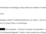 English: Decision by a Swedish court, regarding tort law (case T 38-10).