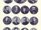 English: Photo of the members of Second Provisional Government of Russia (6th of August - 8th of October 1917).