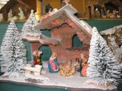 Français : Exposition de crèches miniatures, hiver 2004-05.