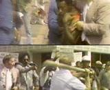 Violence at a Ku Klux Klan march in Mobile, Alabama, 1977 Source: http://www.buyoutfootage.com/pages/titles/pd_na_057.html These are stills from a public domain film, which are used as samples by a stock footage company that sells the entire film on video