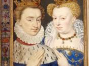 Italiano: Miniatura estratta da un libro di preghiere di Caterina de' Medici, raffigurante Enrico III di Navarra e Margherita di Valois. In realtà, Margherita era meno grassa di come rappresentata in questa miniatura che si differenzia molto dalle raffigu