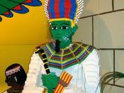 Ancient Egypt in Lego