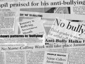 English: the picture consist of articles on bullying, I obtained it from public domain.