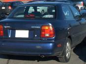 Suzuki Esteem sedan