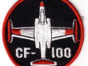 CF-100 badge worn by Canadian Forces crews in the 1970s and 80s