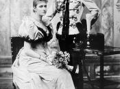 English: Engagement official picture of Tsar Nicholas II and Alexandra Feodorovna