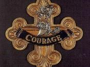 Cowardly Lion's Courage Medal