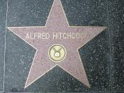 Alfred Hitchcock's star on the Hollywood Walk of Fame, Los Angeles (California)