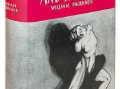 An example of the modern hardcover book with dust jacket: The first edition of William Faulkner's 1929 novel The Sound and the Fury