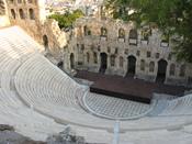 English: Theatre of Herodes Atticus Русский: Одеон Герода Аттического