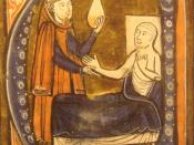 English: European depiction of the Persian (Iranian) doctor Al-Razi, in Gerardus Cremonensis