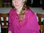 English: Svetlana Bazjanova,russian speedskater Nederlands: Svetlana Bazjanova, voormalig russisch schaatsenrijdster