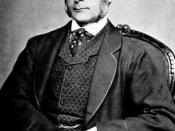 Francis Galton, the English eugenicist who wrote extensively on the relation between intelligence and social class