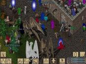 Players interacting in Ultima Online, a classic MMORPG.