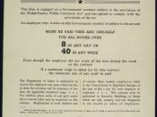UNITED STATES GOVERNMENT CONTRACT NOTICE TO EMPLOYEES - NARA - 515923