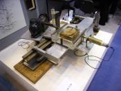 The prototype CT scanner