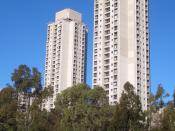 Public Housing Towers, Waterloo, Sydney