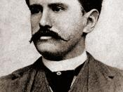 O. Henry (real name William Sydney Porter) in his thirties.