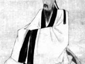 Wang Yangming (1472–1529), considered the most influential Confucian thinker since Zhu Xi.