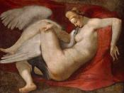 Leda and the Swan, a 16th century copy after a lost painting by Michelangelo (National Gallery, London)