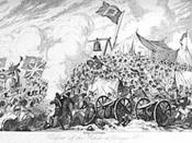 George Cruikshank ( 1792-1878.) Defense of the rebels at Vinegar Hill.