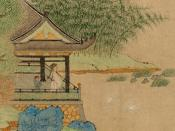 Painting of Wang Xizhi by a later Yuan Dynasty artist.
