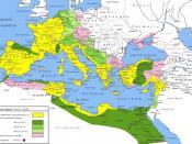 English: The Roman Empire under Augustus Caesar (31 BC - AD 6) Italiano: Impero romano sotto Ottaviano Augusto (31 a.C. - 6 d.C.)