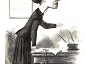 English: Elizabeth Garrett Anderson, M.D. from Cartoon portraits and biographical sketches of men of the day