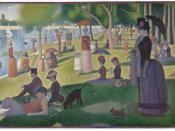 Un dimanche après-midi à l'Île de la Grande Jatte by Georges Seurat