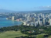 Honolulu from Diamond Head.