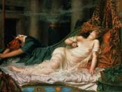 The Death of Cleopatra by Reginald Arthur, Roy Miles Gallery, London