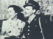 Betty Corday with husband Ted Corday in the 1940s
