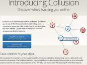 """Mozilla Collusion: discovers who is tracking you online"" #security #infovis / SML.20130202.SC.Mozilla.Collusion"