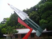 English: Nike missile in Taiwan.
