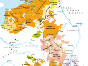 English: Territories of the House of Valois-Burgundy during the reign of Charles the Bold, 1465/67–1477