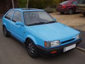 Mazda 323 Turbo.
