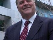 Photo of Kim Beazley, taken at Parliament House, Canberra, July 2004.
