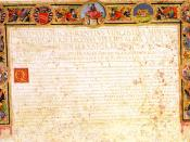 Title of Roman Citizenship dedicated to