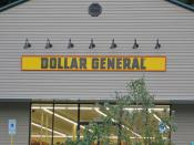 Dollar General Sign, Port Henry, NY