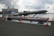 Cruise missile BrahMos shown on IMDS-2007