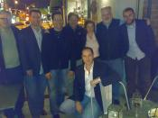 1821 Wine team with Paul Dolan and friends