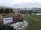 English: Cablevision headquarters in former Grumman headquarters in Bethpage, New York
