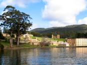 Port Arthur, Tasmania was Australia's largest gaol for transported convicts.