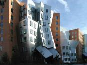 The Stata Center houses CSAIL, LIDS, and the Department of Linguistics and Philosophy