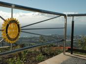 Mount Keira Summit Park, a project of the Rotary Club of Wollongong