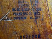 Bourbon Whisky Barrel